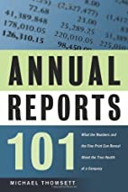 Annual Reports 101: What the Numbers and the…