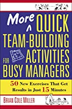 More Quick Team-Building Activities for Busy…