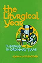 The Liturgical Year v. 4 by Adrian Nocent