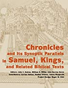 Chronicles and its synoptic parallels in…