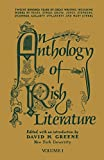 Greene, David: An Anthology of Irish Literature