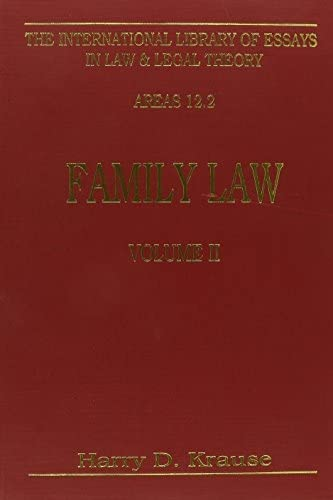 family-law-vol-2-international-library-of-essays-in-law-and-legal-theory