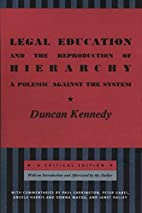 Legal Education and the Reproduction of…