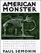 American Monster: How the Nation's…