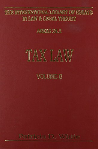 tax-law-vol-2-international-library-of-essays-in-law-and-legal-theory