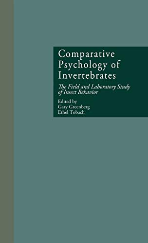 comparative-psychology-of-invertebrates-the-field-and-laboratory-study-of-insect-behavior-research-in-developmental-and-comparative-psychology