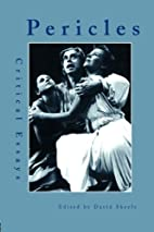 Pericles: Critical Essays (Garland Reference…