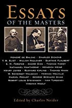 Essays of the Masters by Charles Neider