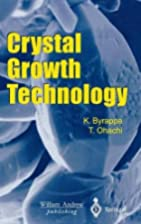 Crystal growth for modern technology by K.…