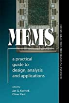 MEMS: A Practical Guide to Design, Analysis,…