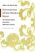 Formation of the Modern State: The Ottoman…