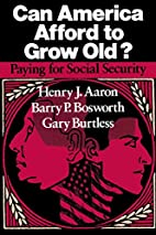 Can America Afford to Grow Old: Paying for…