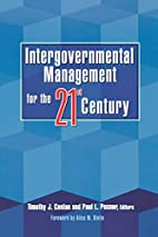 Intergovernmental management for the…