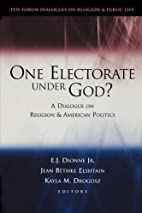 One Electorate Under God?: A Dialogue on…