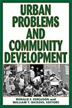 Urban Problems and Community Development by…