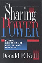 Sharing power : public governance and…