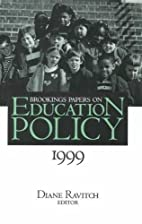 Brookings Papers on Education Policy, 1999…