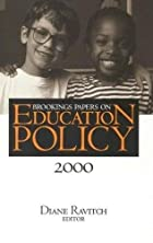 Brookings Papers on Education Policy: 2000…