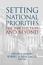Setting National Priorities: The 2000…