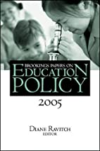 Brookings Papers on Education Policy 2005…