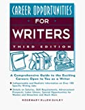 Guiley, Rosemary: Career Opportunities for Writers (Career Opportunities (Paperback))