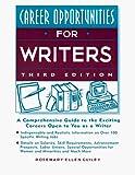 Guiley, Rosemary: Career Opportunities for Writers (Career Opportunities (Paperback))