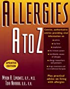 Allergies A to Z by Myron A. Lipkowitz