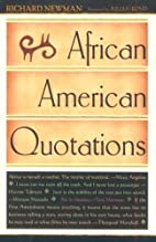 African American Quotations by Richard…