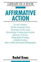 Affirmative Action (Library in a Book) by…