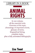 Animal Rights (Library in a Book) by Lisa…