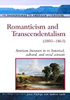 Romanticism And Transcendentalism:…