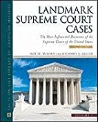 Landmark Supreme Court Cases, Second…
