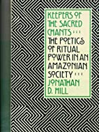 Keepers of the Sacred Chants: The Poetics of…