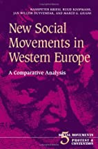 New Social Movements in Western Europe: A…