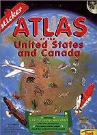 Sticker Atlas Of The U.S. & Canada by John…