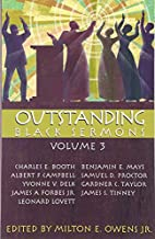 Outstanding Black Sermons by Milton E. Owens