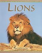 Lions (Pair-It Books) by Barbara Swett Burt