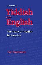 Yiddish and English: The Story of Yiddish in…