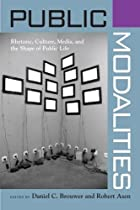 Public Modalities (Albma Rhetoric Cult & Soc…