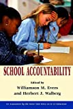 Evers, Williamson M.: School Accountability (HOOVER INST PRESS PUBLICATION)