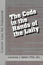 The Code in the Hands of the Laity: Canon…