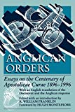 Franklin, R. William: Anglican Orders: Essays on the Centenary of Apostolicae Curae, 1896-1996