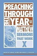 Preaching Through the Year of Matthew:…