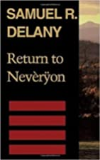 Return to Neveryon (Return to Neveryon) by…
