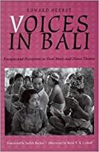 Voices in Bali: Energies and Perceptions in…