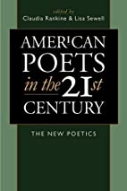 American Poets in the 21st Century: The New…