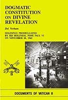 Dogmatic Constitution on Divine Revelation:…
