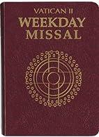 Vatican II Weekday Missal: Millennium…