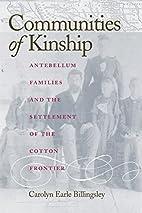Communities of Kinship: Antebellum Families…