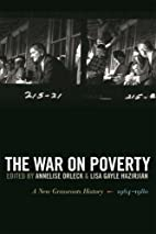The War on Poverty: A New Grassroots…